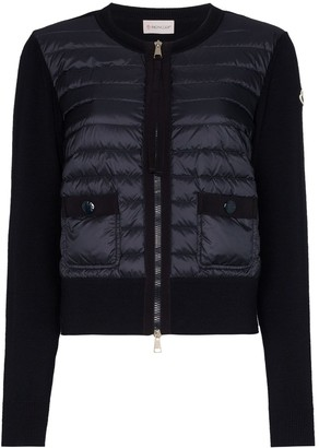 Moncler Padded Wool Cardigan