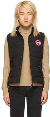 Canada Goose Black Freestyle Down Vest