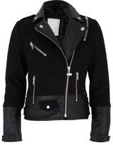 Supertrash Black Cropped Biker Jacket