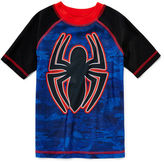 Asstd National Brand Marvel Spiderman Rash Guard - Preschool Boys 4-7