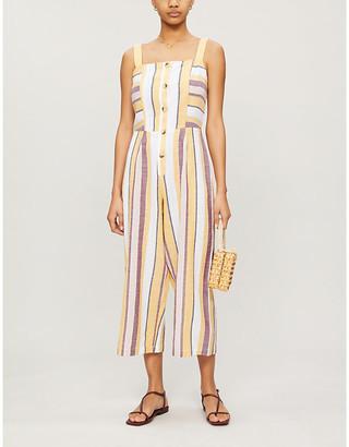 Seafolly Sleeveless cotton jumpsuit