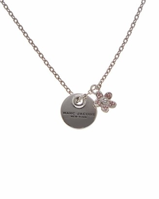 Marc by Marc Jacobs Marc Jacobs Coin Rhodium Necklace