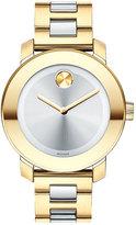 Movado Women's 'Bold' Round Bracelet Watch, 36Mm