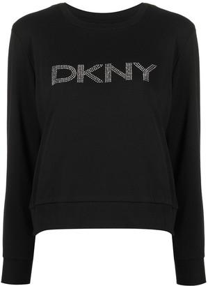 DKNY Logo-Detail Sweatshirt