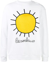 Christopher Kane embroidered sun sweatshirt