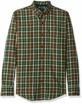 Bass /& Co...... Mens Short Sleeve Madawaska Plaid Trail Shirt G.H