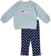 Baby Gear Navy Bunny Sweatshirt & Leggings - Infant