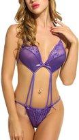 Avidlove Sexy Lingerie for Women Teddy Nightwear Lace Babydoll Bodysuit XXL