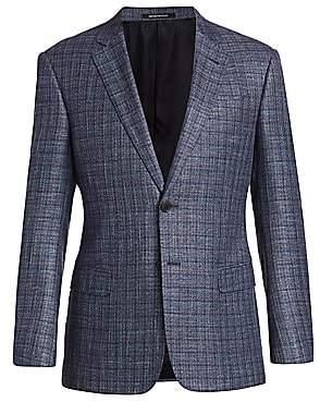 Emporio Armani Men's Bamboo Check Jacket