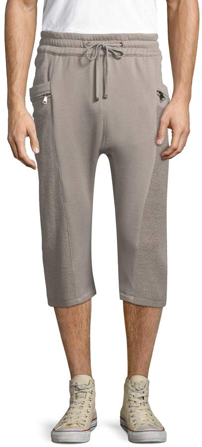 Helmut Lang Men's Pocket Cotton Track Shorts