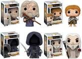 Funko POP! Movies Lord of the Rings Hobbit Collectors Set: Gandalf, Samwise Gamgee, Nazgul & Saruman