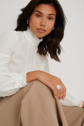 Trendyol Stand-Up Collar Blouse