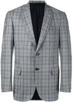 Brioni plaid blazer - men - Cupro/Virgin Wool - 50