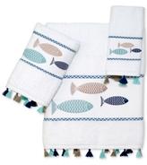 Avanti Three Fishes Cotton Bath Towel Collection