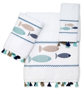 Avanti Three Fishes Cotton Fingtertip Towel