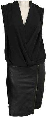 Gestuz Black Leather Dresses