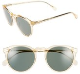 Raen Men's 'Remmy' 52Mm Polarized Sunglasses - Champagne Crystal/ Green