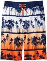 Crazy 8 Palm Swim Trunks