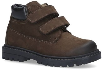 Florens Suede Combat Boots
