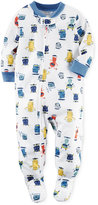 Carter's 1-Pc. Footed Monster Pajamas, Baby Boys'