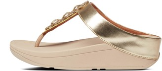 FitFlop Fino Sparkle Toe-Post Sandals