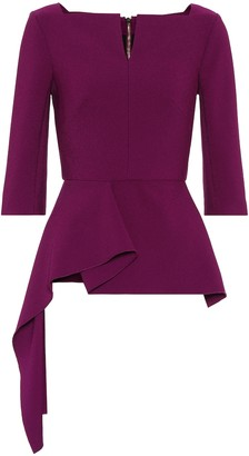 Roland Mouret Exclusive to Mytheresa Siskin crepe top