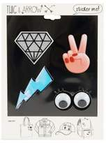 Twig + Arrow Peace Yes Adhesive Stickers