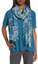 Eileen Fisher Women's Print Silk & Wool Scarf