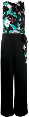 Diane von Furstenberg Wide-Leg Sleeveless Tie-Waist Jumpsuit