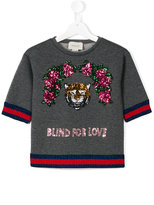Gucci Kids Blind For Love sweatshirt