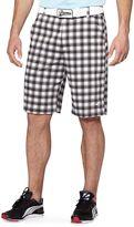 Puma Tech Plaid Golf Shorts