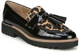 Franco Sarto Carolynn Genuine Calf Hair & Patent Leather Moc Loafer