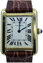 Cartier Tank Solo Other Yellow gold Watches