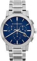 Burberry Watch, Men's Swiss Chronograph Stainless Steel Bracelet 42mm BU9363
