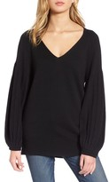 Ella Moss Women's Francesca V-Neck Sweater