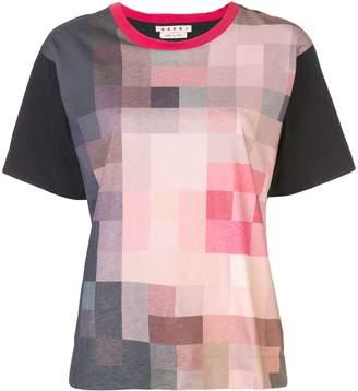 Marni pixel print T-shirt