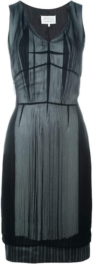 Maison Margiela layered fringe dress