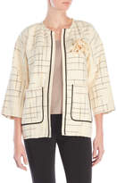 Alysi Check Weave Jacket