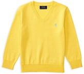 Ralph Lauren Boys' V Neck Sweater - Sizes 2-7