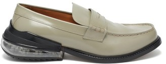 Maison Margiela Airbag Heel Leather Loafers - Grey