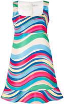 RED Valentino square neck sleeveless dress