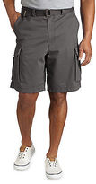 True Nation Broken-In Twill Cargo Shorts Casual Male XL Big & Tall