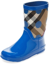 Burberry Embroidered Hi-Top Boot