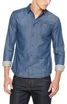 Bonobo Men's Skdenimh Business Shirt, Bleu (Bleu)2