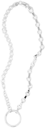 Skomer Studio All Day Sterling Silver Chunky Duo Chain Necklace