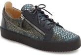 Giuseppe Zanotti Side Zip Low Top Sneaker (Men)