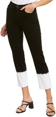 Alice + Olivia Stunning Eclipse High-Rise Straight Leg Jean