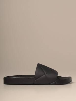 Bottega Veneta Slider Rubber Sandal