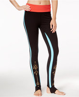 Gaiam Avalon Foldover Yoga Leggings