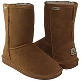 BearPaw Women's Emma Short Shearling Boots 608-W (Chestnut)